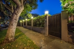 Secure & private gated & hedged property surrounded by lush landscaping