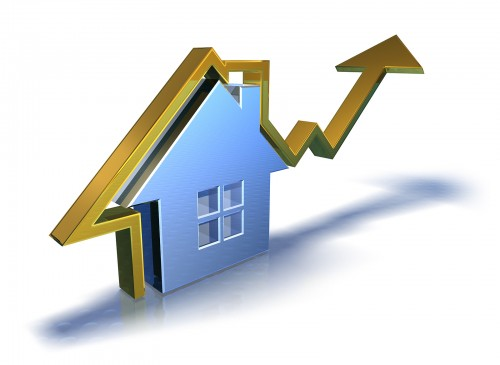 Real Estate Prices Rise